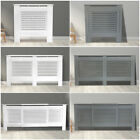 Radiator Cover White Grey Modern Traditional Wood Grill Cabinet MDF Shelf Sizes
