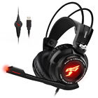 Somic G941 vibration headset compatible with PC virtual 7.1 PUBG TPS FPS Games