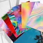Colorful 3d Holographic Nails Transfer Sticker Graffiti Z9d8 Art Decal Diy M9y4