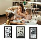 Animal Reusable Face Paint Stencil Body Tattoo Painting Makeup Template N6c1