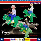Halloween Inflatable Ride Dinosaur T-Rex Party Role Play Fancy Costume