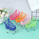 Mini Shopping Cart Supermarket Handcart Shopping Utility Cart Mode Storage Toy