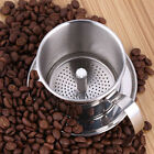 Vietnamese Coffee Simple Drip Filter Press Maker Single Cup Stainless Steel