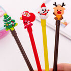 Christmas Stationery Santa Claus Gel Pen 0.5mm Ink Pen Special Gift