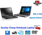 Cheap Windows 10 Student Laptop Dual Core I5 I3 2.50ghz 8gb 500gb Hdd 200gb Ssd