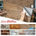 Home Decoration Simulation Mural Tile Sticker Stone Brick Decal Wall Stickers