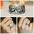 Pretty Bird Flower Silver Rings For Women Jewelry Party Rings Size 6-10 Hot Sale