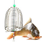 Useful Stainless Steel Fishing Lure Wire Cage Fish Bait Fishing Accessory T4j6