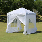 2x2m 3x3m Pop-up Gazebo Marquee Canopy Outdoor Garden Party Wedding Tent Shade