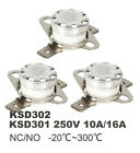 KSD301 Ceramic Temperature Switch 250V10A16A Thermostat Degree Celsius 30 300