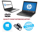 "Cheap Windows 10 Student Hp Laptop Netbook Dual Core 14"" 4gb 180gb Ssd Wifi"