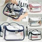 Clear Makeup Bag Travel Cosmetic Transparent Toiletry Bag Shower Pouch Wash Case