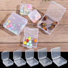 Small Items Case Packing Boxes Jewelry Beads Container Transparent Storage Box