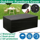 Heavy Duty Table Cover Waterproof Garden Furniture Outdoor Oxford Cloth