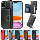 Slim Leather Card Stand Slot Back Case Cover For Samsung Note 20 10 S20 Fe Ultra