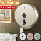 "9"" Jumbo Roll Bathroom Toilet Tissue Paper Dispenser Holder Box Wall Mounted A"