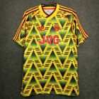 1993 Arsenal Away Shirt Soccer Jersey Arsenal Bruised Banana All Sizes By Nike image