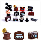 Ornaments Resin Home Decor Tv Model Furniture Figurine Telephone Mini Pianos