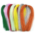 100 Root/bundle Holographic Tinsel String Jig Hook Material Lure Fishing T7s2