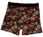 "Ed Hardy Logo Band Tattoo ""TRUE"" & ""DEATH BEFORE DISHONOR"" Soft Boxers Mn's NWOT"