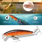 Lot Fishing Lures Minnow 9cm/6.6g Plastic Bass Hard Fish Tackle Best Baits F9c6