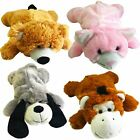 750ml Hot Water Bottle with Cute and Cuddly Plush Animal Cover Sofa Bedtime Heat