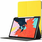 Apple iPad Pro 12.9 2018 Case Cover, Protective Stand, Auto Sleep Wake + Stylus