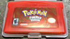Pokemon Fire Red Leaf Green Emerald Ruby US GBA Gameboy Advance - Free Shipping