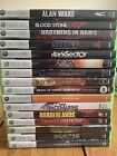 Xbox 360 Game Lot YOU PICK/CHOOSE TESTED