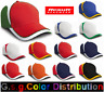 More images of Hat Man Baseball Cap National 100% Cotton (Heavy Drill, Pettinato)