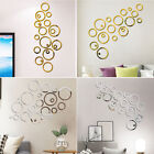 Decoration Wall Stickers Home Set Living Room Mirror Three-dimensional