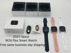 New 2021 Series 6 Smart Watch 44mm Smart iOS Android Original W26 Plus
