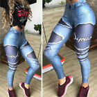 Ladies Print Yoga Pants Fitness Leggings Running Gym Exercise Sports Trousers IA