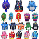 Cartoon Baby Toddler Kids Dinosaur Safety Harness Strap Backpack School Bag /