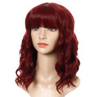 17 Colors Medium Long Curly Hair Wavy Full Wig Anime For Women Cosplay Party