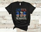 Vintage America The Brewtiful Funny 4th Of July Beer Drinking Patriotic T-Shirt