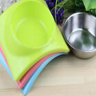 Dual-use Pet Feeder Pet Bowl Stainless Steel For Food Water Feeding Dog Bowl KS