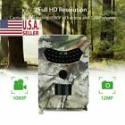 Hunting Wildlife Game Trail Video Outdoor Camera 12MP CMOS 1080P HD IP56 US H8L8