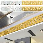 10 Pcs Decoration Wall Sticker Gold/silver Home House Living Room Decor Diy