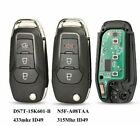 Fits Ford 315/433Mhz N5F-A08TAA Complete Transponder Remote Key