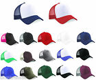 TRUCKER CAP SNAPBACK HAT - 17 GREAT COLOURS - NEW STOCK BNWT