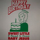 funny baby jesus small christmas ugly sweater t shirt