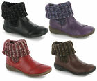 New Womens Soft Sock Top Fashion Ankle Boots Size 3-8