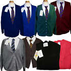 School Uniform Button Knitted Cardigans 9 colours Royal