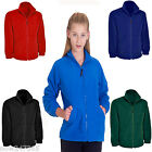 Kids Childrens School Fleece Jacket Premium Age 2 - 13
