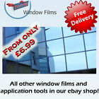 MIRROR BLUE 80% WINDOW FILM - ALT TO BLINDS OR CURTAINS