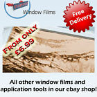 MIRROR BRONZE 80% WINDOW FILM ALT TO BLINDS OR CURTAINS