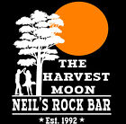 Neil Young Inspired T-Shirt Harvest Moon CSN&Y  Rock