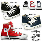 TODDLERS KIDS ALL STAR CONVERSE TRAINERS HI TOP SHOES MULTI COLOR SIZE  2 -10