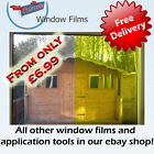 YELLOW WINDOW TINTING TINT FILM - STAINED GLASS EFFECT!